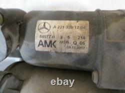 07-13 Mercedes w221 w216 S CL Air Ride Suspension Compressor Pump 2213201704