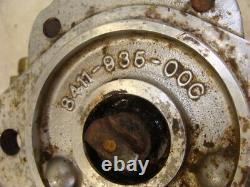 1997 RANSOMES T-PLEX 185D reel pump mower hydraulic motor drive ultra 8411935 3