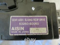 98-02 LX470 Land Cruiser Sliding Sun Roof Gear Drive Motor AISIN 63260-60060