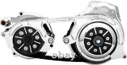 BDL 2 Open Belt Drive 2-Piece Motor Plate Hydraulic Clutch Chrome EV2PH-B17-C