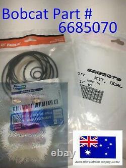 Bobcat Hydraulic Drive Motor Seal Kit OEM 6685070 S175 S185 S205 S510 S530 S550
