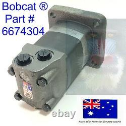 Bobcat Hydraulic Drive Travel Motor OEM 6674304 440 440B 443 450 453 463 S70