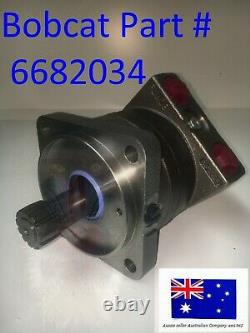 Bobcat Hydraulic Drive Travel Motor OEM 6682034 S175 S185 S205 S510 S530 S550