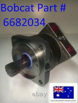 Bobcat Hydraulic Drive Travel Motor OEM 6682034 S510 S530 S550 S570 S590 S595