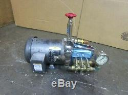 CAT 2SF30ES DIRECT DRIVE PLUNGER PUMP 3GPM 1500PSI With 1-1/2HP MOTOR 208-230/460V