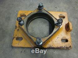 Case 1845c 1845 C Final Hydraulic Drive Wheel Motor Carriage Mount Plate