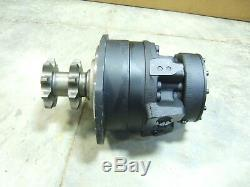 Case 450 465 Drive Motor-87035343-Single Speed with Split pump New from Case