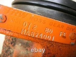 Case Ingersoll 444 446 448 Tractor Mower Hydraulic Drive Motor