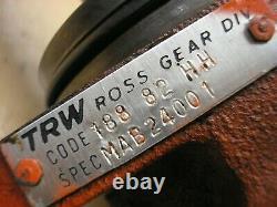 Case Ingersoll 444 446 448 Tractor TRW Ross Hydraulic Drive Motor