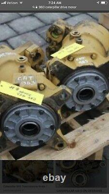 Cat 963 Final Drive motor Right side only left