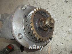 Farmall IH Super M tractor Power Unit motor M&W hydraulic pump assembly hr drive