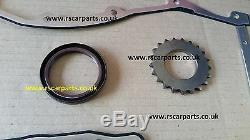 Febi Timing Chain Kit 16 Rocker Arms 16 Tappets Opel Agila Asrta H Combo 1.3cdti