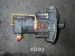 John Deere 332D Skid Steer Loader LH Hydraulic Drive Motor AT330337 328 325 326E