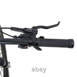 Mountain E-Bike With mid Drive Motor 8 Speed hydraulic Brakes G-Hybrid Jason UK