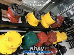 NEW Bobcat 331C, 331G, X331 final drive travel motor- 6 & 12 bolt -No core