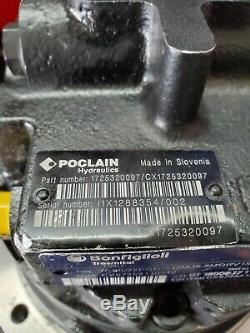 New Bobcat Poclain Hydraulics 1725320097 Wheel Motor Planetary Final Drive nobx