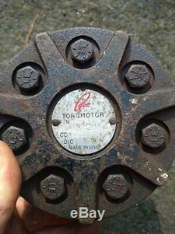 Torqmotor Ross torcmotor MB10028AAC hydraulic hydro drive wheel motor parker